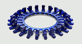 plastic injection-molded part